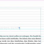 Kapitelsenkung in InDesign – vier Optionen